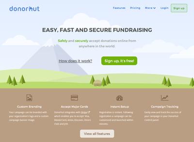 Donorhut-page