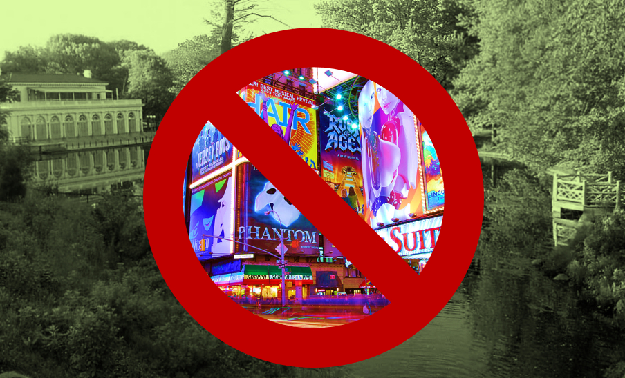 No to touristville