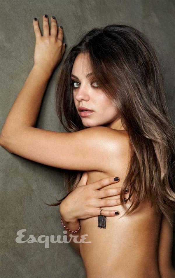 Topless Mila