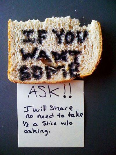 Stolen Bread
