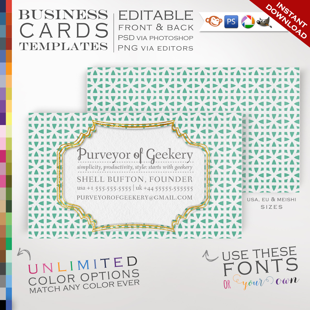 Avery Business Card Template Photoshop