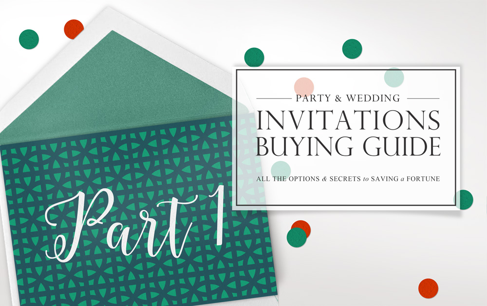 Invitation Buying Guide