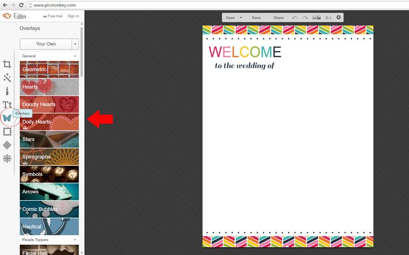 PicMonkey - Adding Images as Overlays