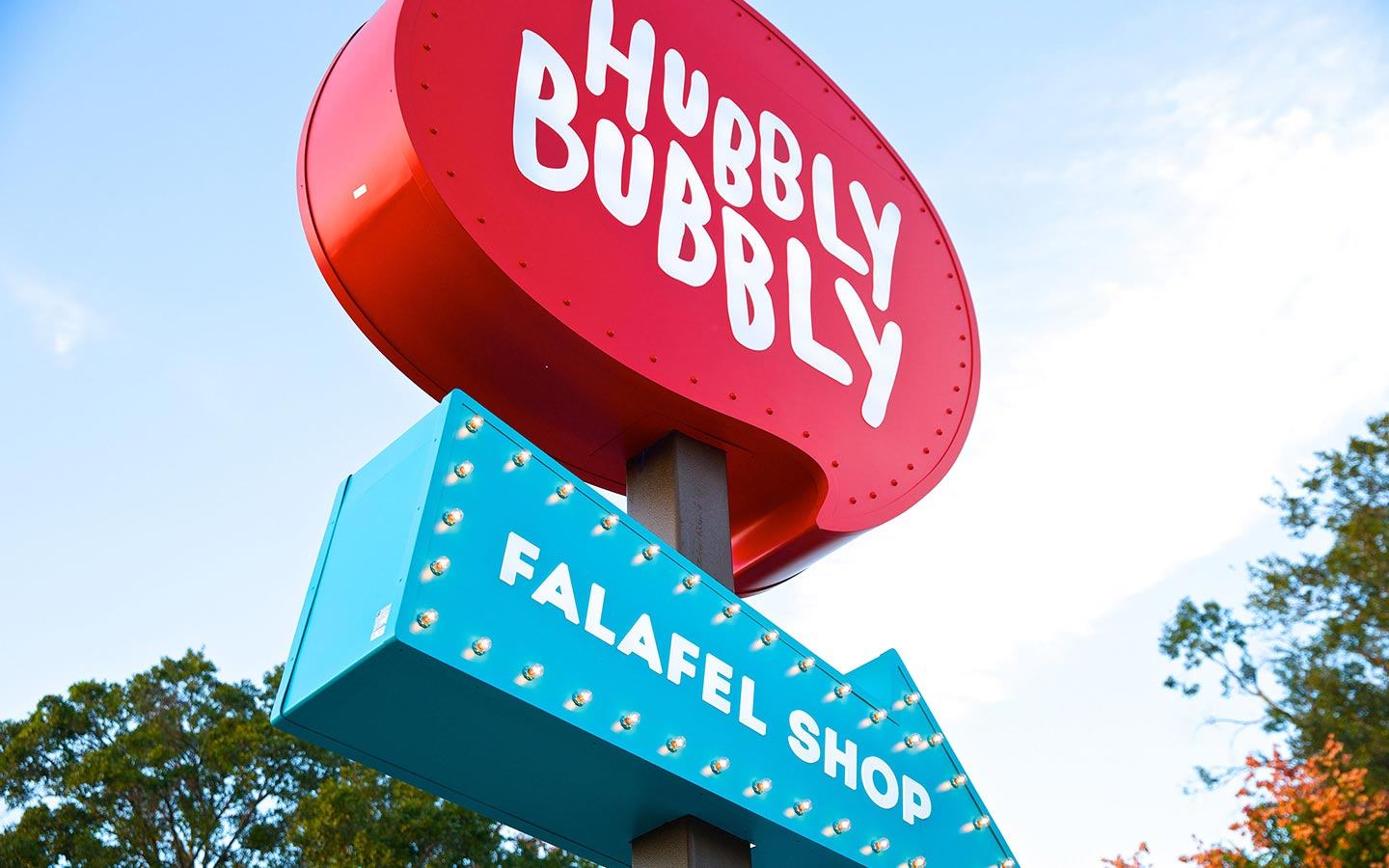 Hubbly Bubbly Sign