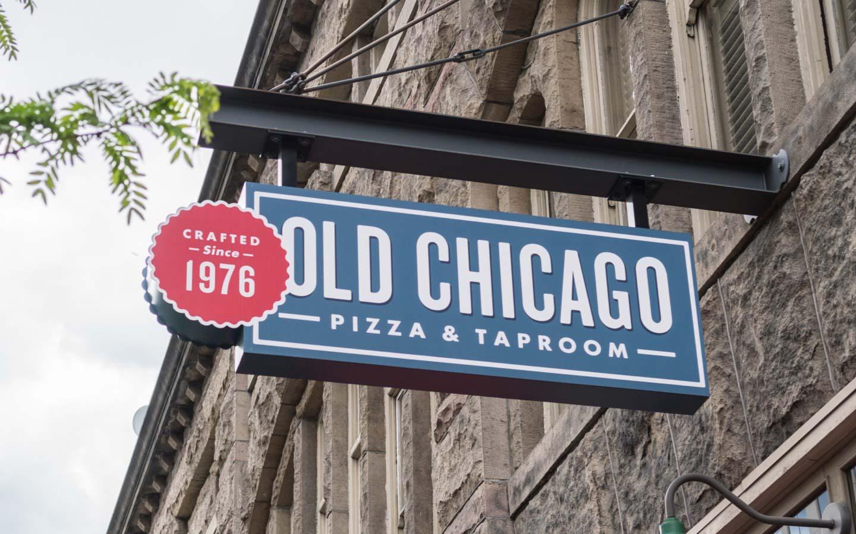 Old Chicago Exterior Signage