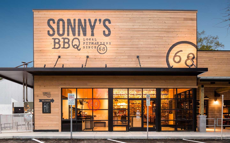 Sonnys BBQ Building Exterior