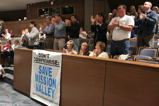 "The lawsuit that emerged from the group that organized to ""Save Mission Valley"" in 2010 is now on appeal."