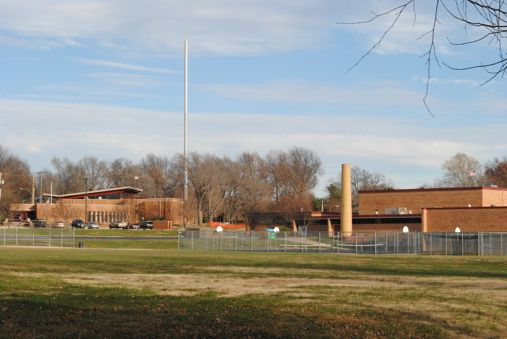 Cell phone tower near Indian Hills Middle School