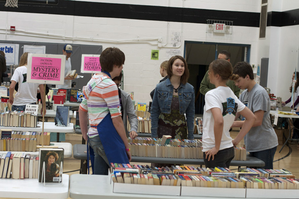 Last year, SM East students organized a used book sale in conjunction with the Earth Fair. The sale will return in 2014.
