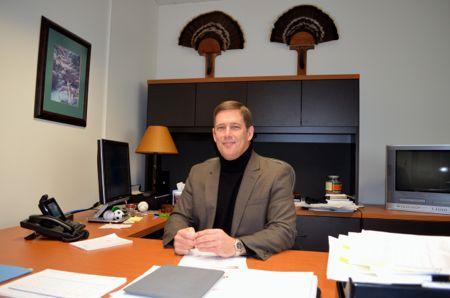 Shawnee Mission School Superintendent Dr. Jim Hinson.
