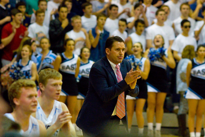 """SM East coach Shawn Hair said the game was emblematic of """"what high school sports are supposed to be."""""""