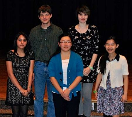 SM East: Photo of the team is attached: Top row (L-R): Kenton Parrett, Chloe Neighbor. Bottom row: Priscilla Acero, Yashi Wang, Michelle Lu. Not pictured: Juliana Gogol.