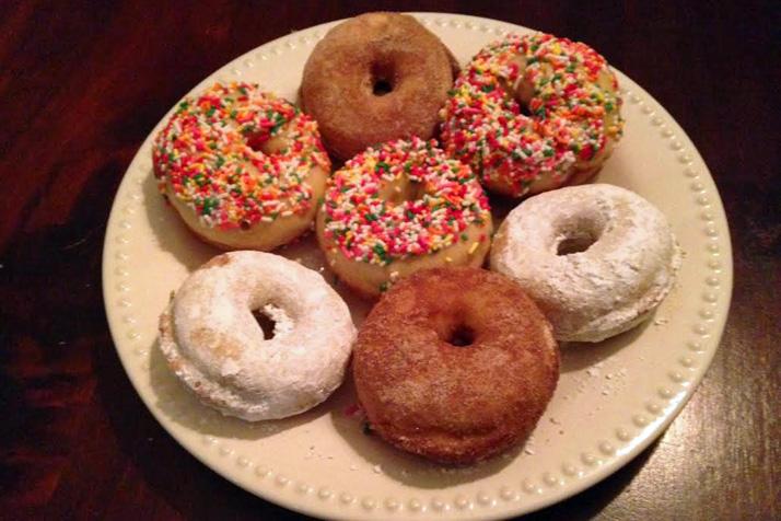 Donuts a la Julia.
