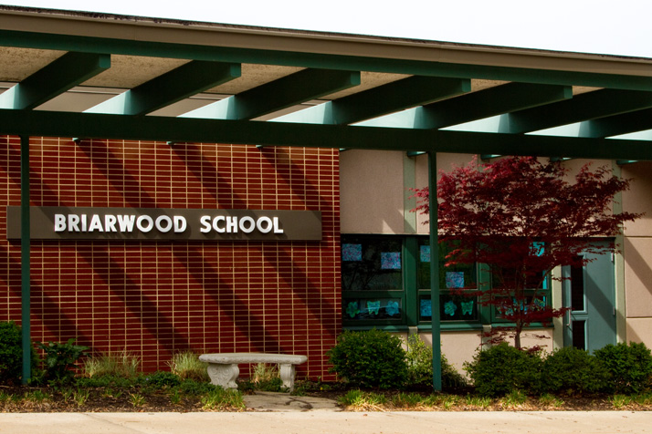 Briarwood Elementary is one of three district schools struggling with overcrowding, according to a recent demographer's report.