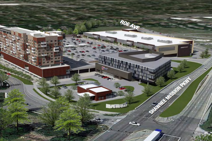 A rendering of the Gateway East project included in the property marketing documents used by RED Brokerage and Cameron Group LLC.