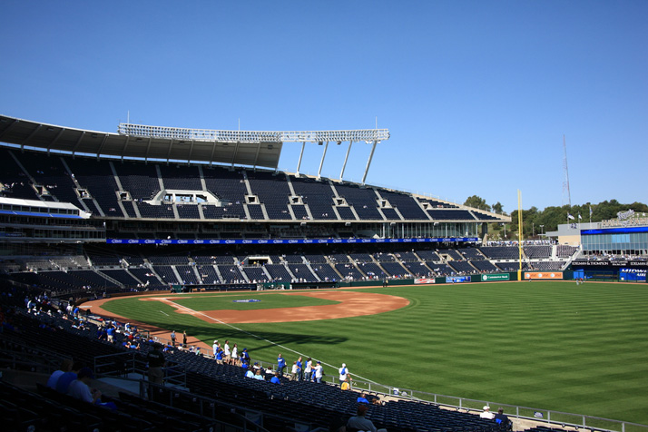 The Royals will play Detroit once more before coming back to Kansas City for their home opener Friday. Photo credit: Shutterstock.