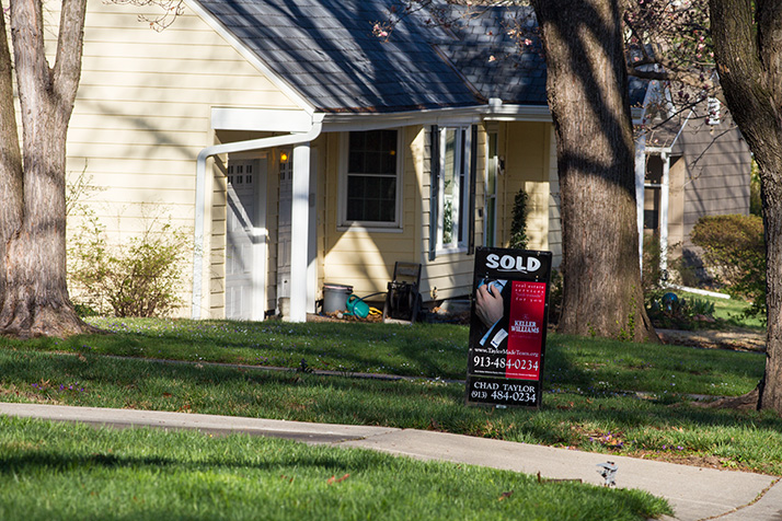 Home sales prices are on the rise in Johnson County.