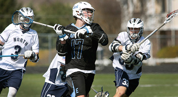 SM East's John Aliber scored nine goals against Blue Valley North.