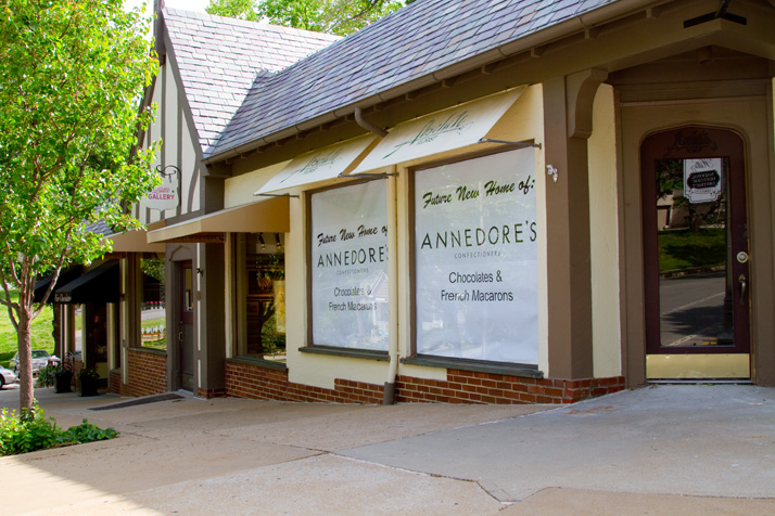 Annedore's will be moving just a couple doors down from its current location at the Westwood Hills Shops.