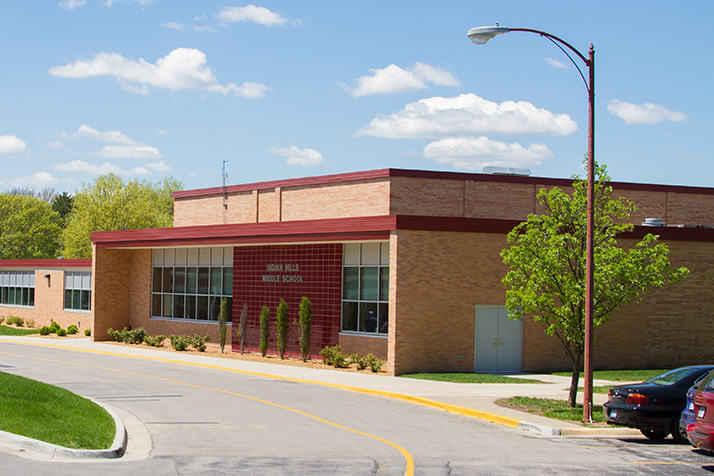 Indian Hills Middle School will be marking its 60th school year this fall.