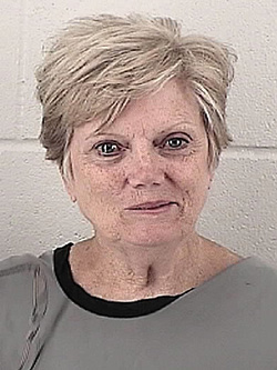 Dorothy Ritter was booked in Johnson County Jail Monday after her sentencing.