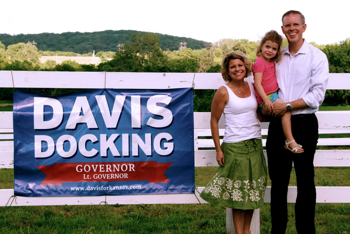 Davis campaign photo via Facebook.