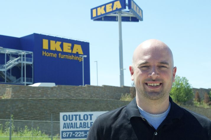 Drew Joyner hopes to make a going business specializing in IKEA assembly.