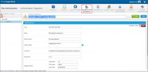 qTest - Site Admin - Authentication Integration - Add