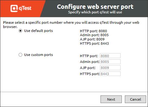 7 Web ports