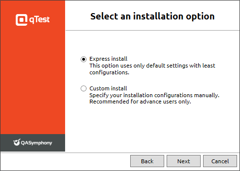 3 - Installation option