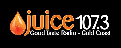 Juice1073 logo black