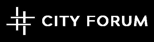 Cityforumlogo white