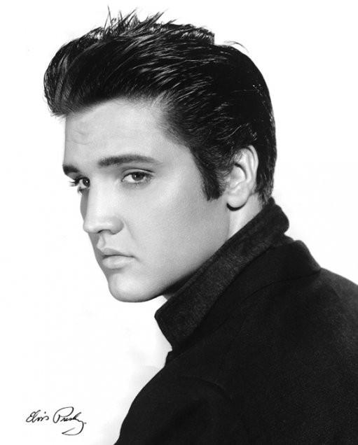 ¿Cuánto mide Elvis Presley? - Altura - Real height Retarto_Elvis_Presley