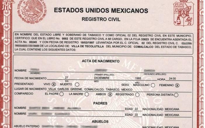 Es oficial: ya puedes imprimir tu acta de nacimiento - Quintana Roo Hoy
