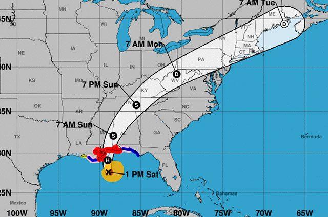 """Se-levanta-la-alerta-por-huracán-""""Nate"""""""