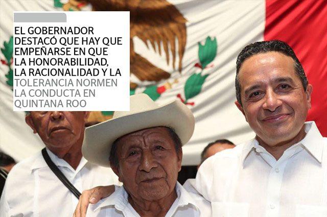 Libertad, trabajo y justicia premisas de Quintana Roo