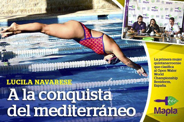 Lucila Navarese fija un nuevo objetivo en el Mediterraneo
