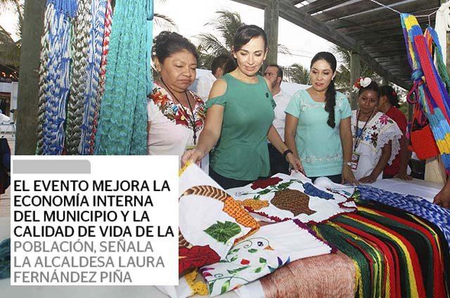Promueven la economía interna de Puerto Morelos