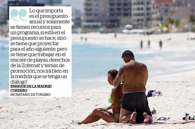 Sismo del 19S atrasará recuperación de playas