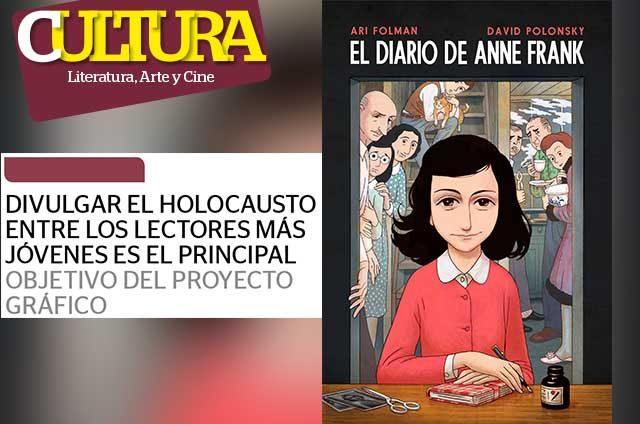 Ana Frank cobra vida en cómic