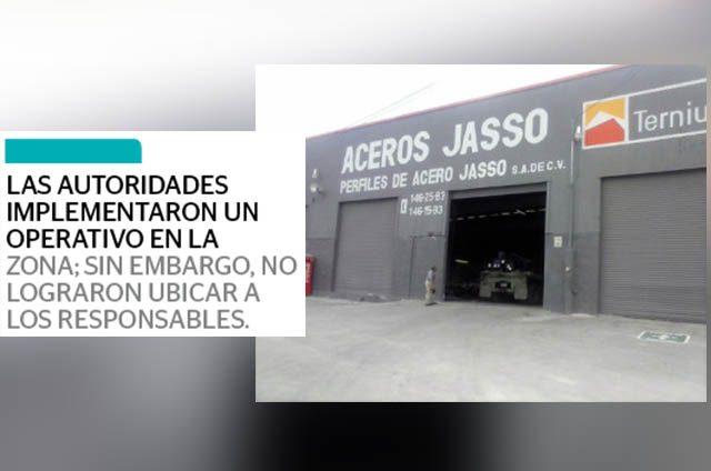 Asaltan tienda de acero; se llevan $140 mil