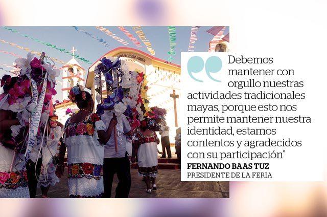 En Kantunilkín, reviven sus tradiciones