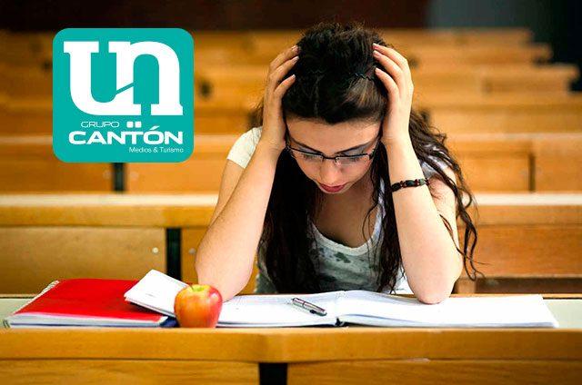 ¡Estudiantes-estresados!