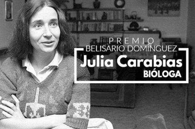 Julia-Carabias-ganadora-de-la-Medalla-Belisario-Domínguez