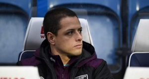 chicharito-west-ham-banquillo