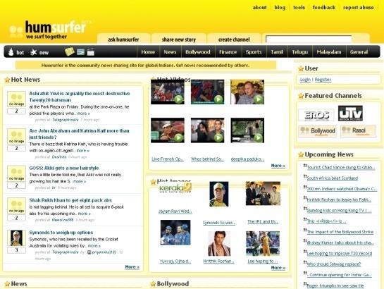 ทำเว็บให้ดัง ด้วย humsurfer community news sharing