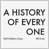 Bill Orcutt A History Of Every One pack shot