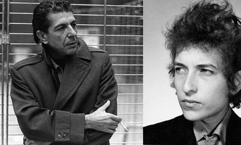 Leonard Cohen vs. Bob Dylan