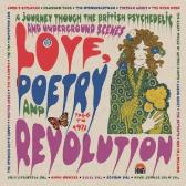 Various Artists Love Poetry And Revolution: A Journey Through The British Psychedelic And Underground Scenes 1966 To 1972 pack shot