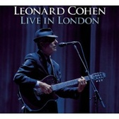 Leonard Cohen Live In London pack shot